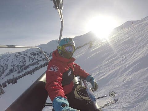 A day in the life of a ski-instructor