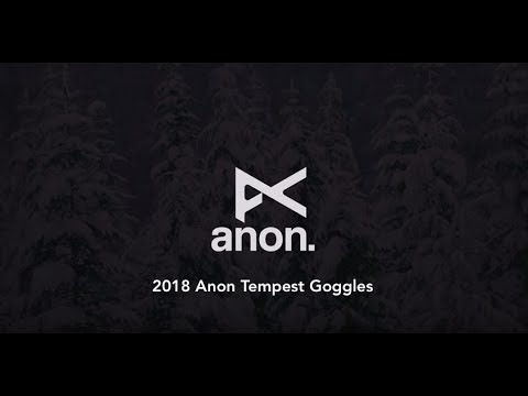2018 Anon Tempest Women's Goggles - Review - TheHouse.com