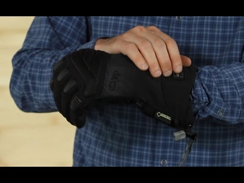 Using Outdoor Research Heated Gloves