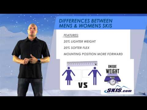 Difference Between Mens and Womens Skis by Skis com