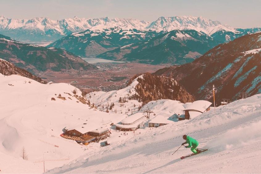 amber ski goggle tint