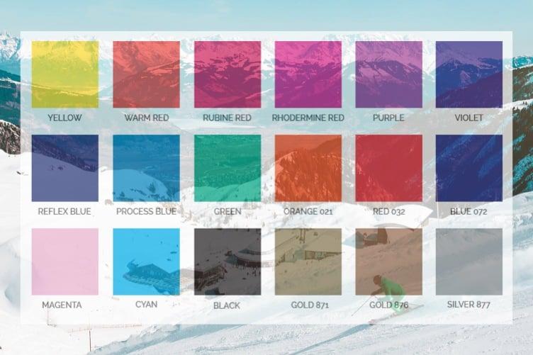 ski goggle tint options