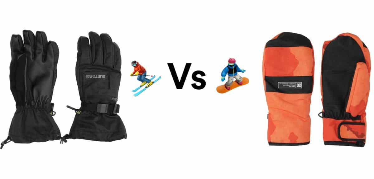 Gloves Vs Mittens: Which is Better for Skiing & Snowboarding?   New To Ski