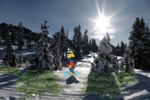 How To Escape a Tree Well When Skiing