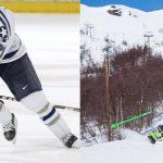 skating vs skiing