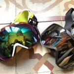 ski goggle shapes