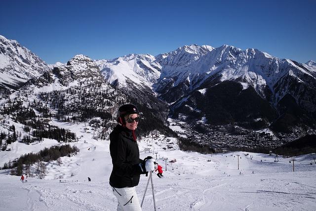 ski helmet woman