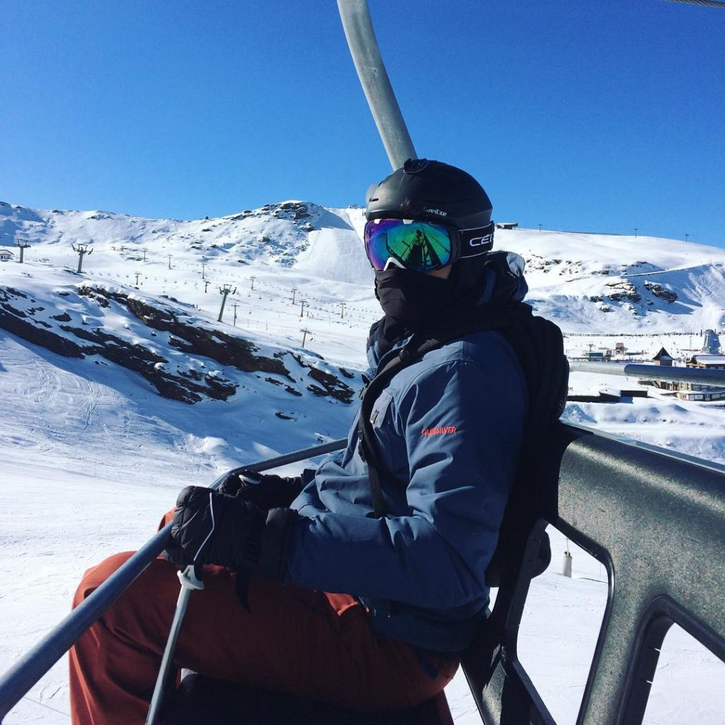 mirrored ski lens