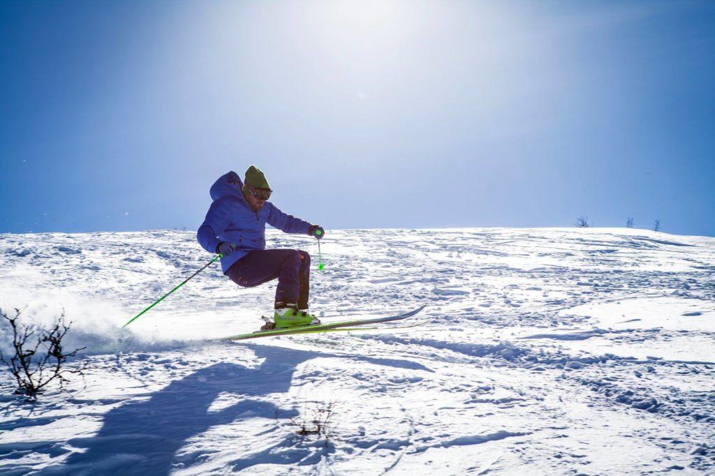 ski pole balance