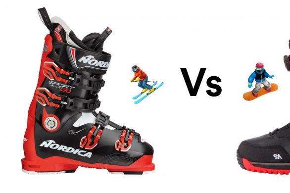 What's The Difference? Ski vs Snowboard Boots