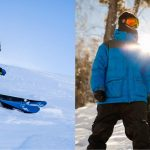 ski vs snowboard risks