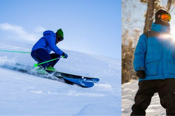 The REAL Difference Between Ski and Snowboard Clothes