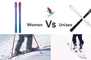 The Real Difference Between Men (Unisex) & Women's Skis.