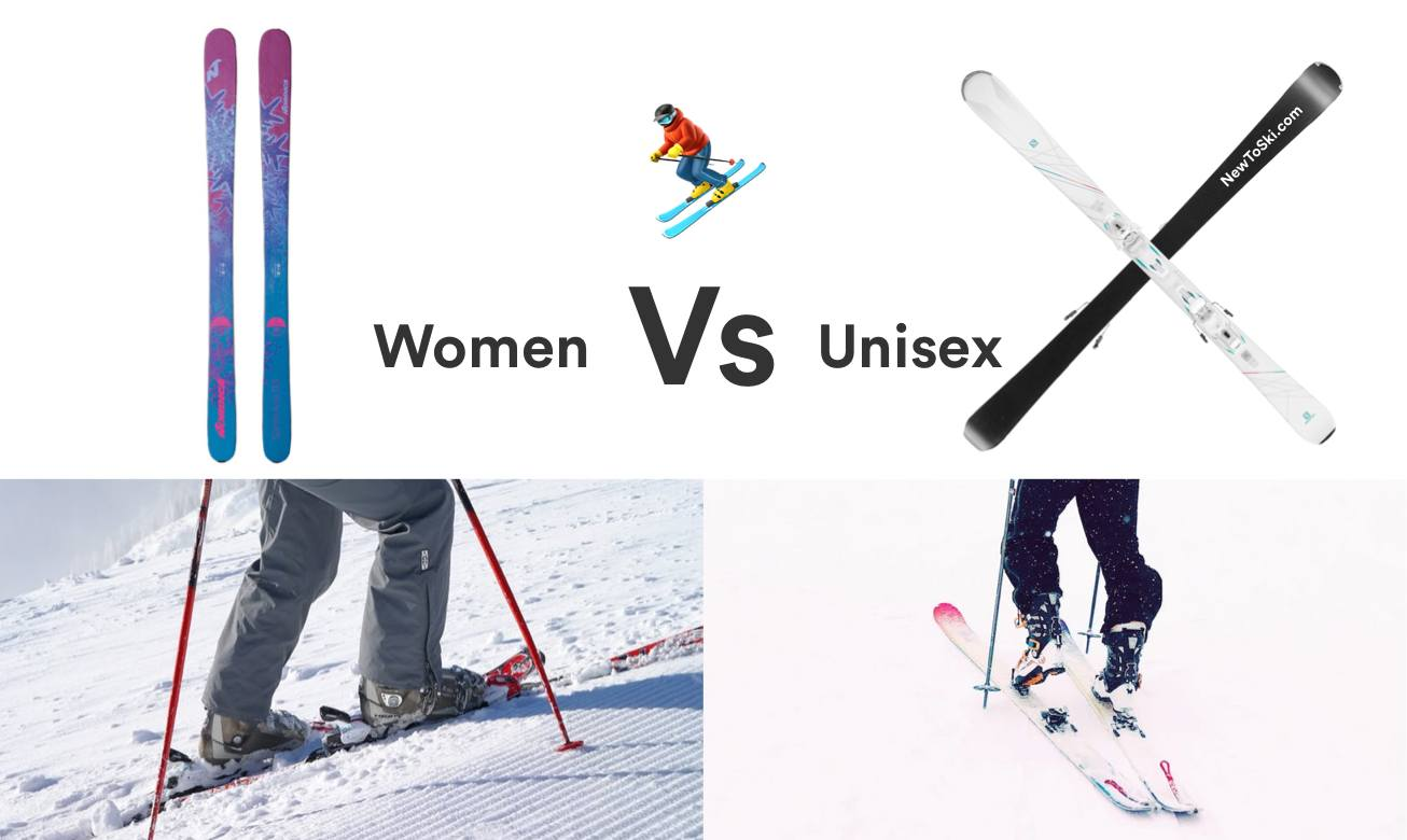womens vs unisex skis