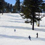 ski blue trail