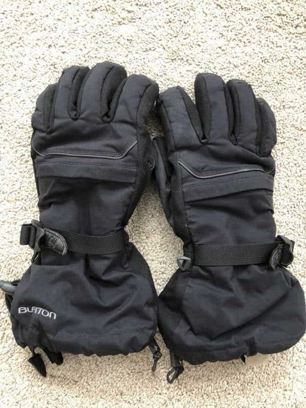 burton ski gloves