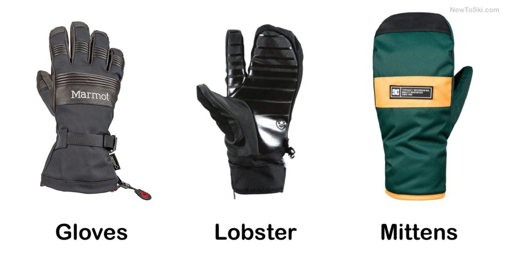 lobster gloves and mittens