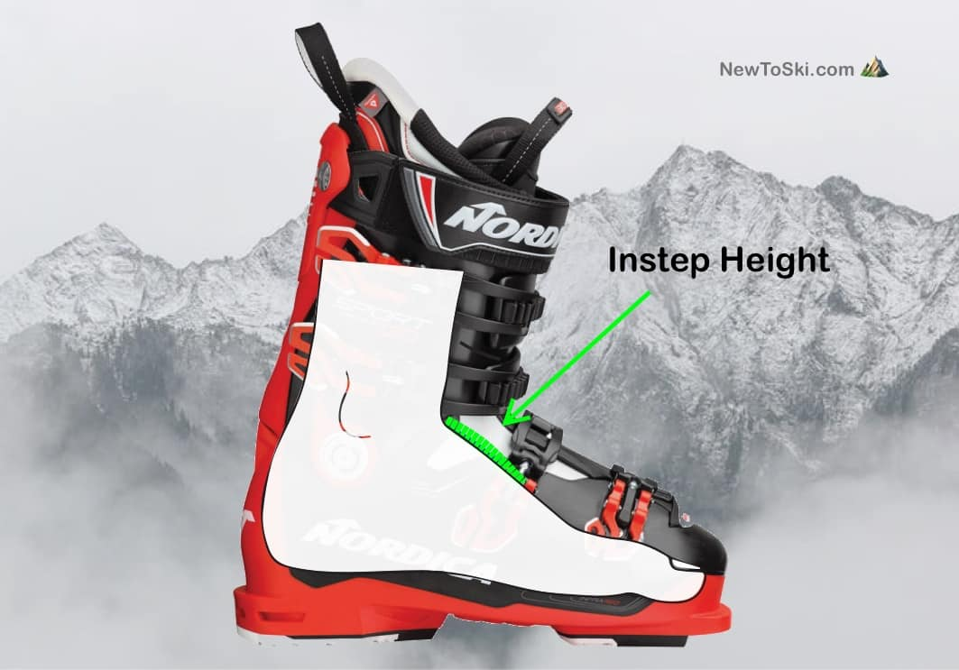 instep height boot