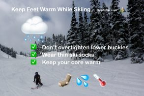 7 Tips to Keep Your Feet Warm While Skiing