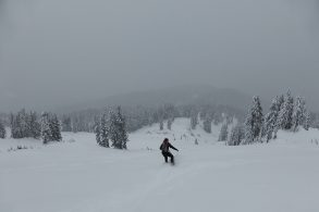 How to Ski in a Whiteout with Zero Visibility