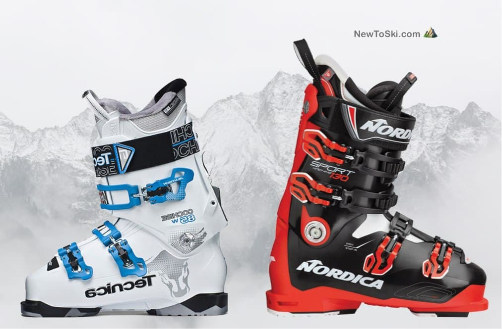 men vs womens ski boots