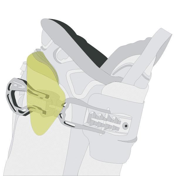shock absorbing cuff insert