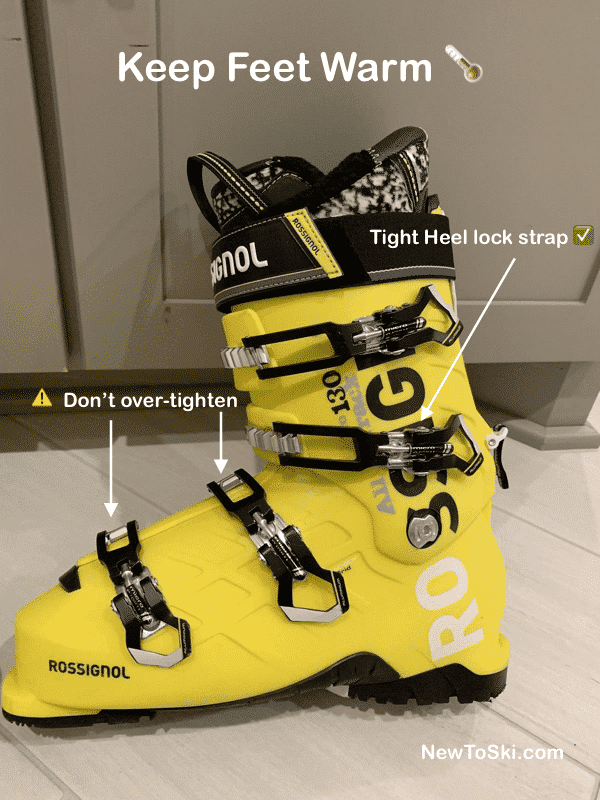 ski boot optimum buckle