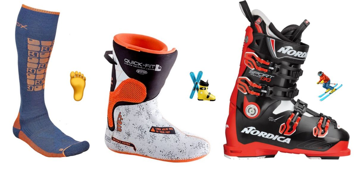 narrow ski boot
