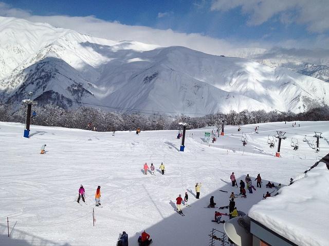 skiers station