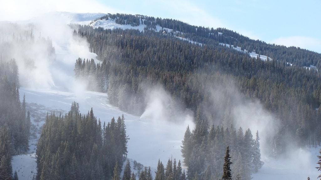 snowmaking trail