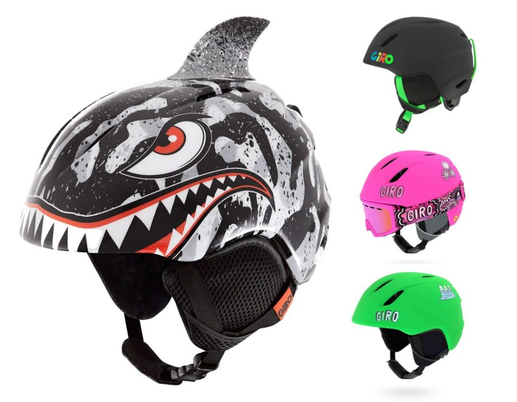 giro launch kids ski helmets