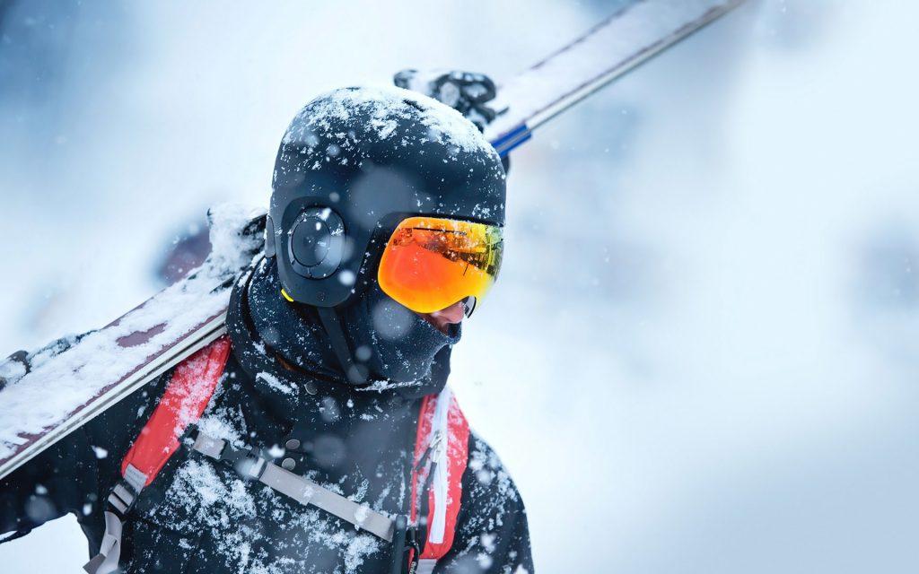 ski helmet headphones