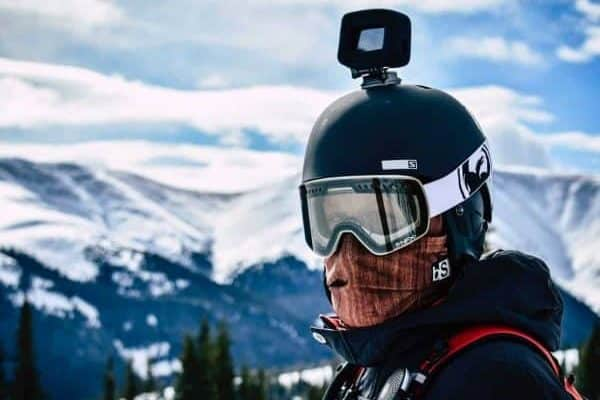 ski action camera