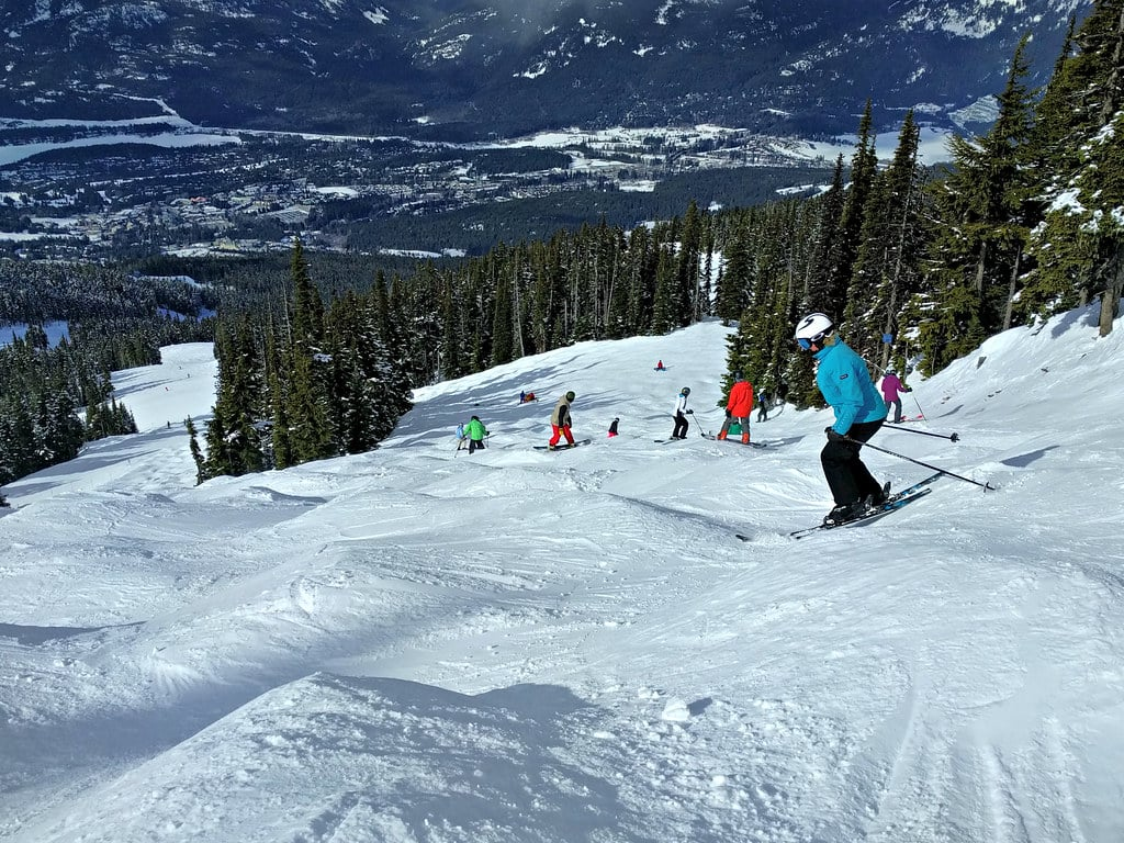 moguls ski