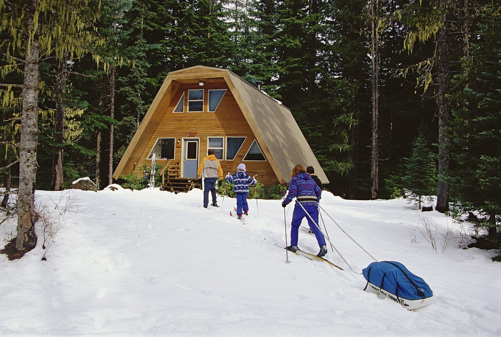 skiers lodging