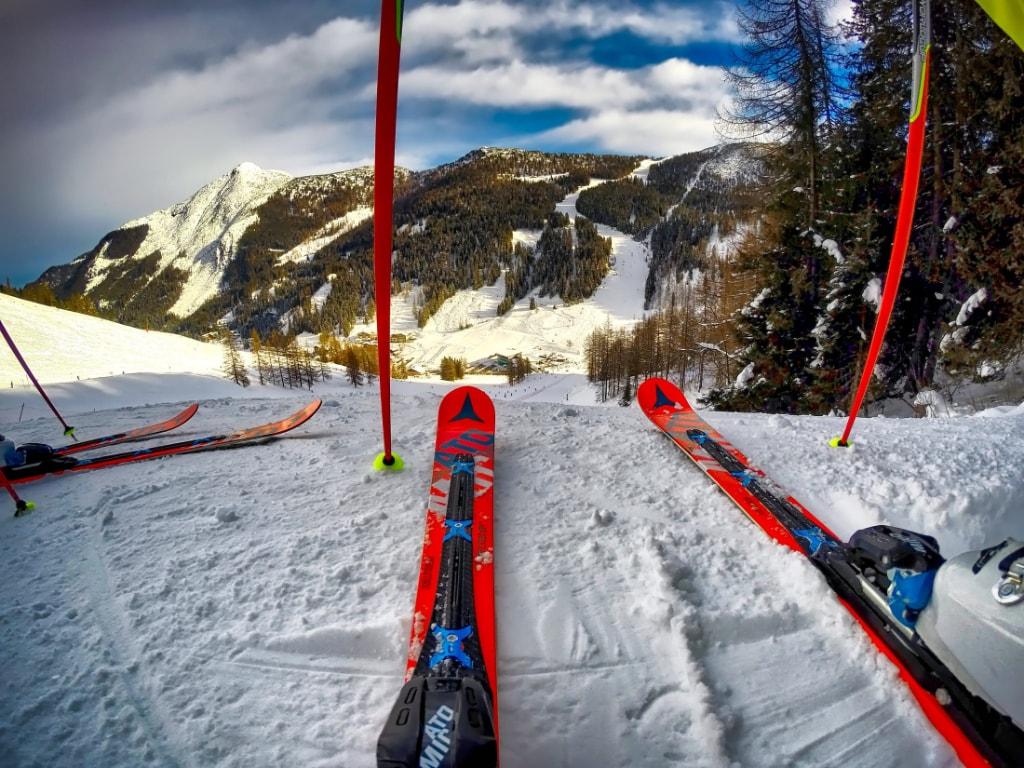 red ski