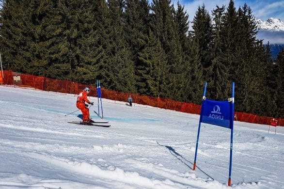 Do Slalom Skiers Hit The Flags On Purpose or Accidentally?